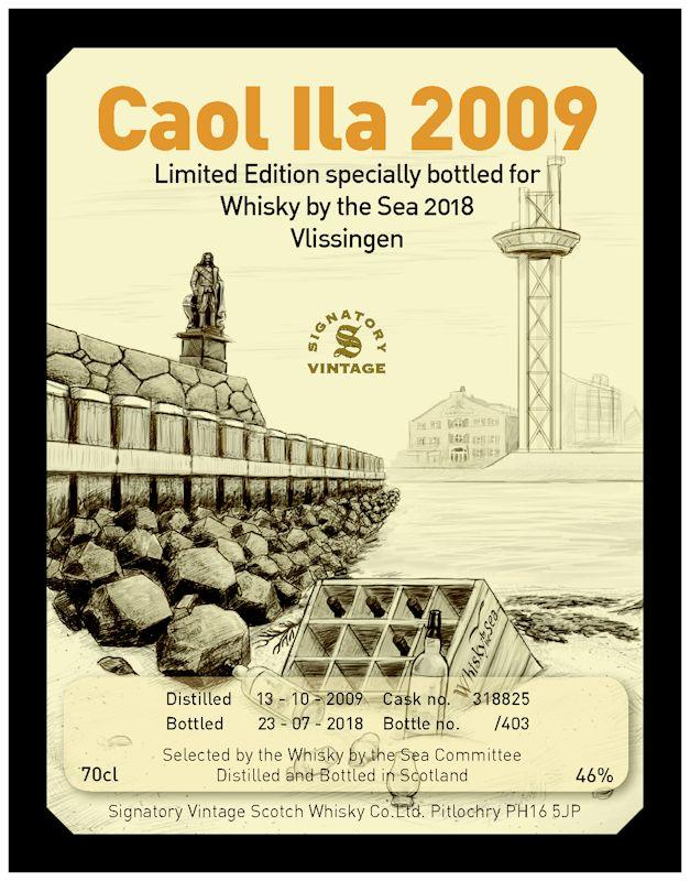 Etiket Whisky by the Sea 2018
