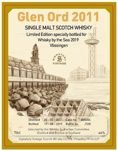 Etiket Whisky by the Sea 2019